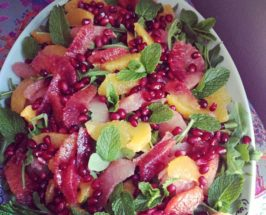 Make It! Citrus Salad with Pomegranate & Wild Rocket