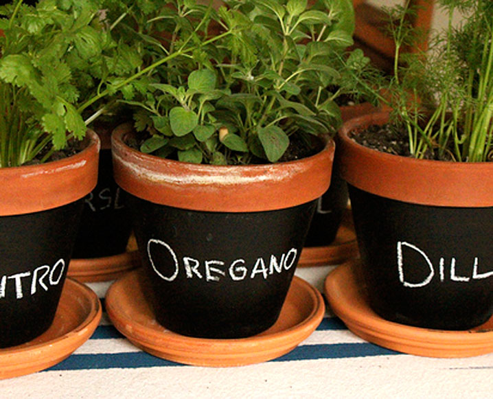 Make It By Monday: Chalkboard Pots