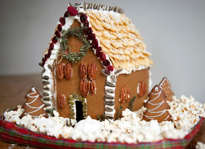 How to make a healthy gingerbread house healthy for Healthy home designs