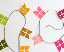 Make It By Monday: A Simple Garland For January