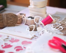 To DIY For: Adorable Heart Punch Valentine's Day Cards