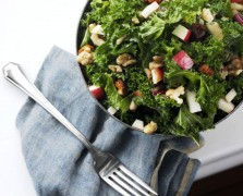 The Raw Detox: Winter Greens and Walnuts