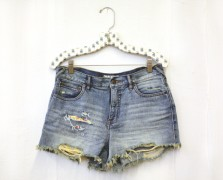 Make It By Monday: Coachella-Ready Denim Shorts