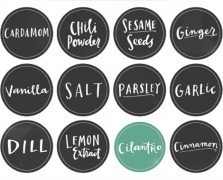 Make It By Monday: Printable Spice Jar Labels