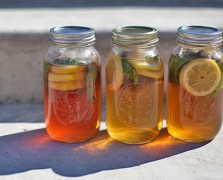 Make It By Monday: Fresh Mint and Citrus Sun Tea