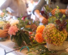 Autumn Arrangements: A Fall Workshop With Our Favorite LA Florist