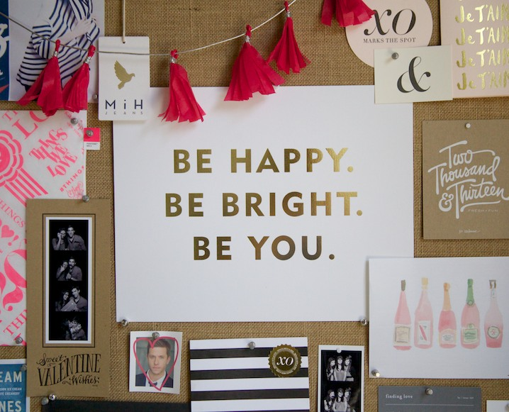 Inspiration Boards 101: Get Creative With Sugar Paper