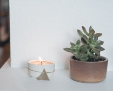 Blogger Holi-DIY:Make This Spiced Beeswax Candle