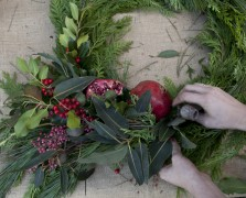 Deck The Halls: Botany's Gorgeous DIY Wreath