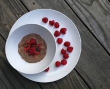 Super Bowl: Superberry Chocolate Chia Pudding