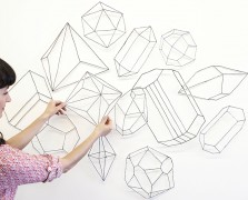 Rock On: Bramble Workshop's DIY Crystal Installation