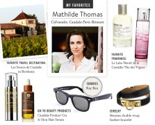 caudalie my favorites mathilde Thomas