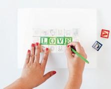 Yellow Owl Workshop's DIY Alphabet Blocks For Mom