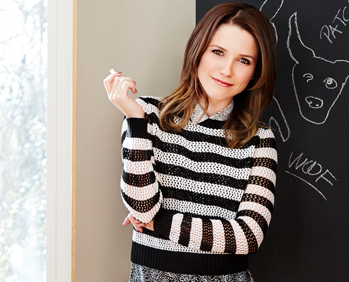 sophia bush guest editor the chalkboard