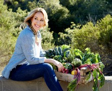 haylie duff living well the chalkboard real girls kitchen
