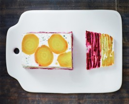 Stack 'Em Up: Beet And Goat Cheese Heaven With Two Foodie Sisters