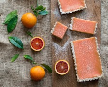 Blood-Orange Bars White On Rice Bountiful