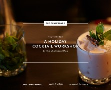 Shake It Up: Our Holiday Cocktail Workshop with West Elm