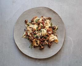 mushroom salad recipe Slanted Door