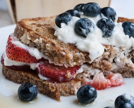 Brunch It Up: Make This Un-guilty Vegan French Toast For The Weekend