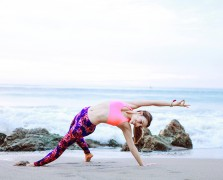 A Beach Yoga Sequence To Wake Up Your Senses