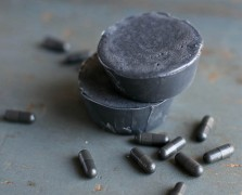 Shades Of Grey: Make This Activated Charcoal + Tea Tree Detox Soap