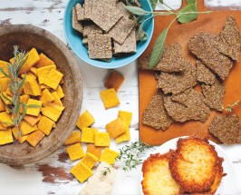 The Seed Cracker: 2 Versions Of The Best High-Protein Cracker Ever