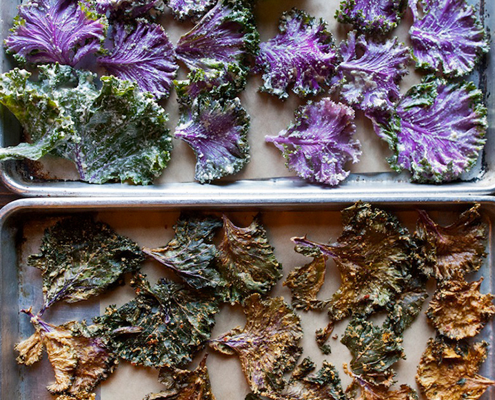 Kale Chips + Cashew Butter: The Crunchy Recipe That's Too Good To Be True