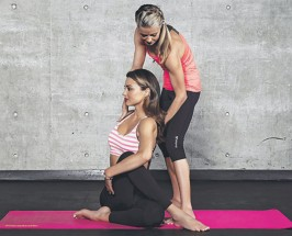 Fit-spirational: Miranda Kerr's Yogi On Being In The Moment