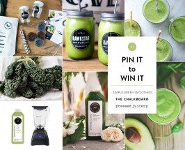 All Greens All Day: Win Our #TCMxSimpleGreenSmoothies Contest