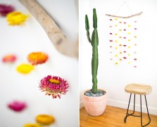 Summer Swag: Two Gorgeous Wall Hanging DIYs With Dried Flowers
