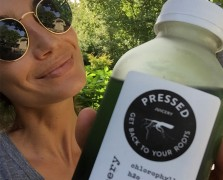 How Lily Aldridge Stays Healthy During Fashion Week