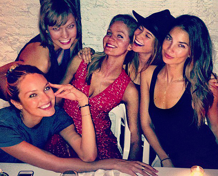 The Healthy Friend Date: Lily Aldridge On BFFs + Staying In Shape