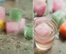 The Coolest Ice Cubes Ever: Upgrade Your Summer With Rainbow-Flavored Ice