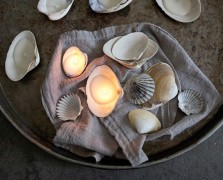 By Land Or By Sea: The Sweetest Seashell Candles To DIY This Summer
