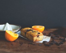 The Chalkboard Bakes: Gluten-Free Chocolate Orange Loaf Cake