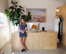Mornings in Venice with Green Designer Christy Dawn