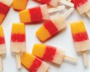 Fall Freeze: Layered Blood Orange + Lemon Juice Pops