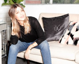 Mint Smoothies + Perfect Ts: Mornings with LNA Designer Lauren Alexander