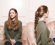 Braids For Days, Part One: The Knotted Double French Braid
