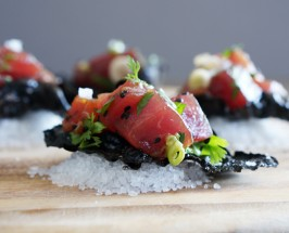 poke recipe nori chips