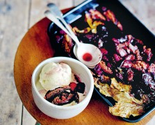 London In The Fall: The Violet Bakery's Fig Leaf Ice Cream