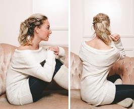 Braids for Days, Part Two: Product-Free Braid Tutorial For Cozy Nights In