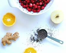 A Superfood Holiday: Cranberry Orange Chia Seed Chutney