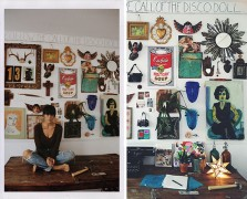 how to build a gallery wall Free People DIY