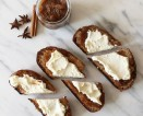 Chai Spiced Toast With Apple Butter + Ricotta