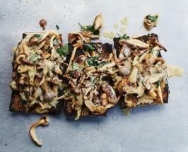 Epic Mushroom Toast from Inside The Gjelina Cookbook