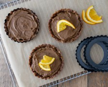 Free of All The Things But Flavor: Chocolate Hazelnut Orange Tarts