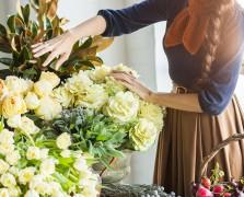 Pecan Pie Bars + Roses: Inside A Gorgeous L.A. Floral Workshop