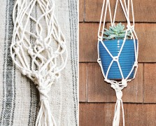 A Wilder Life: Inside The Beautiful Book + A DIY Macramé Planter